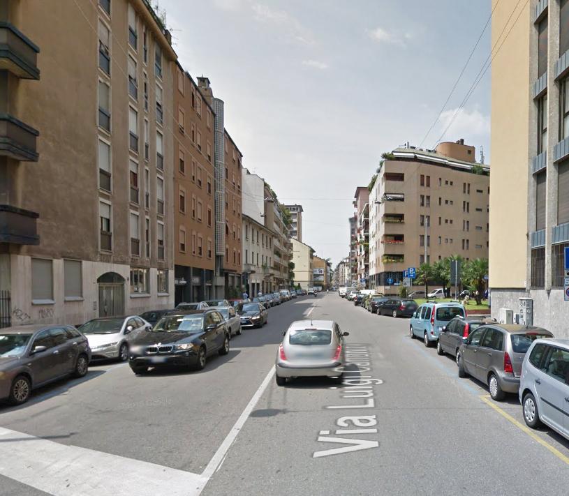 Bilocale Milano Via Luigi Canonica 7