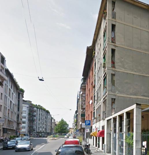 Bilocale Milano Via Luigi Canonica 8