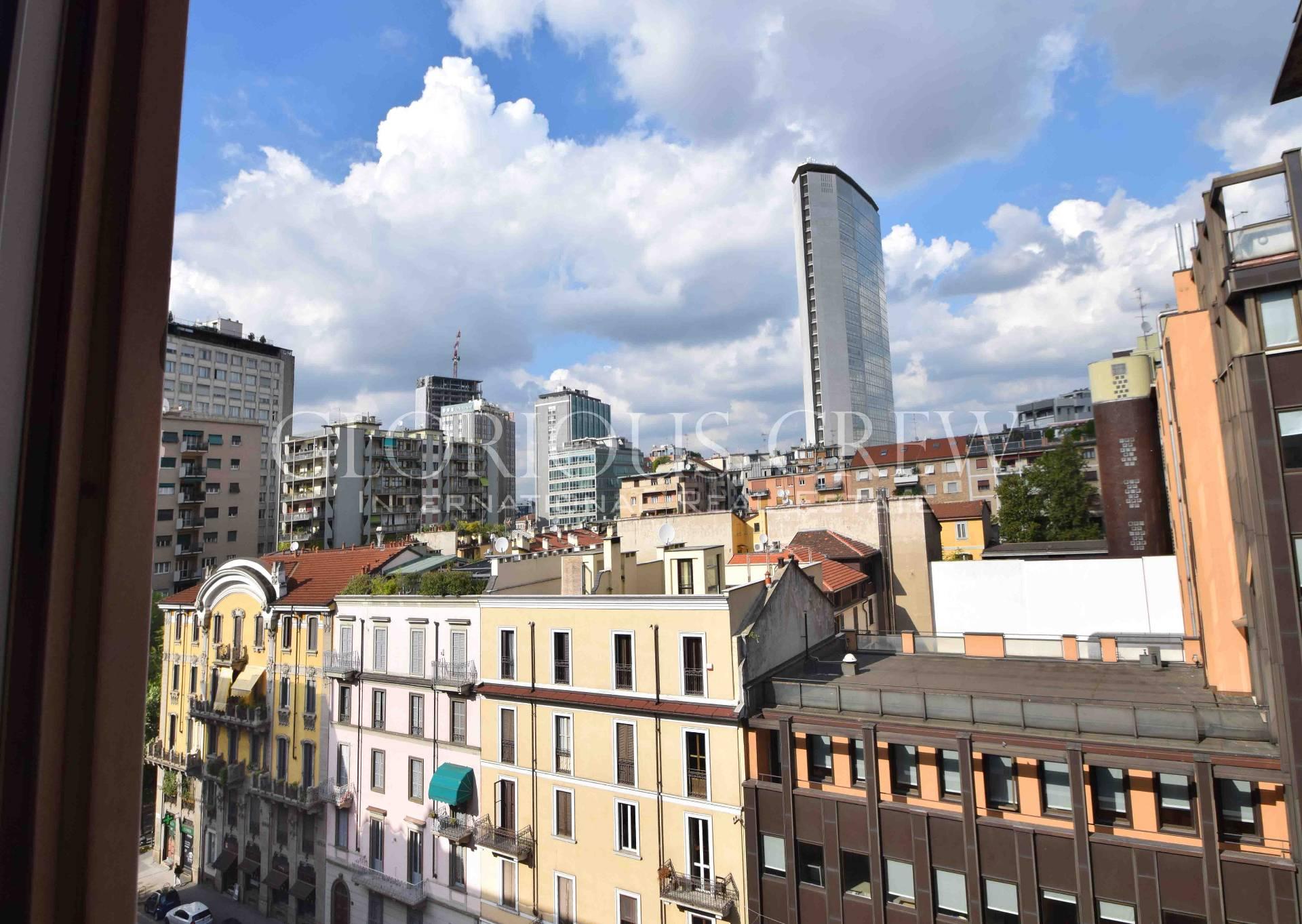 Appartamento in Vendita a Milano 02 Brera / Volta / Repubblica: 5 locali, 173 mq
