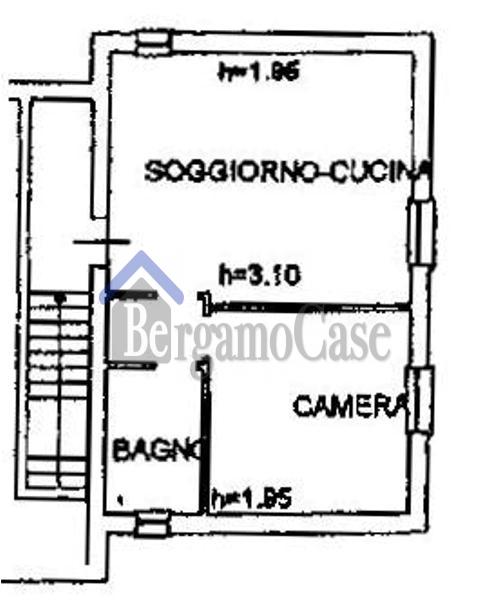 Bilocale Bergamo Via Bersaglieri 10