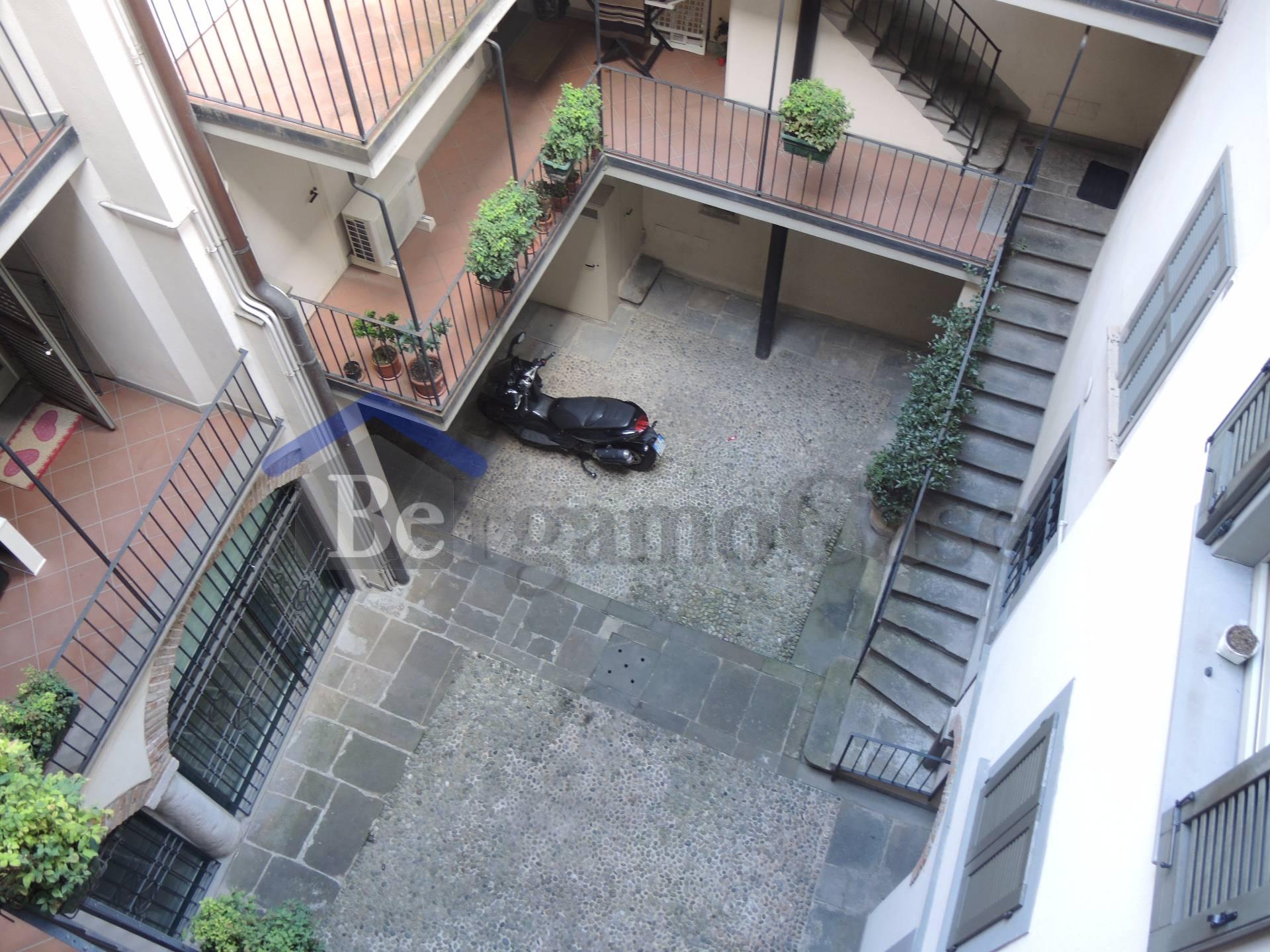 Bilocale Bergamo Via Sant'alessandro 8