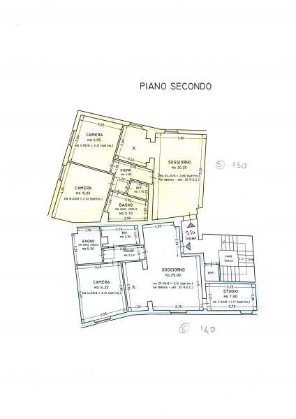 Appartamento in vendita a Vicopisano, 3 locali, zona Località: SanGiovanniallaVena, prezzo € 130.000 | Cambio Casa.it