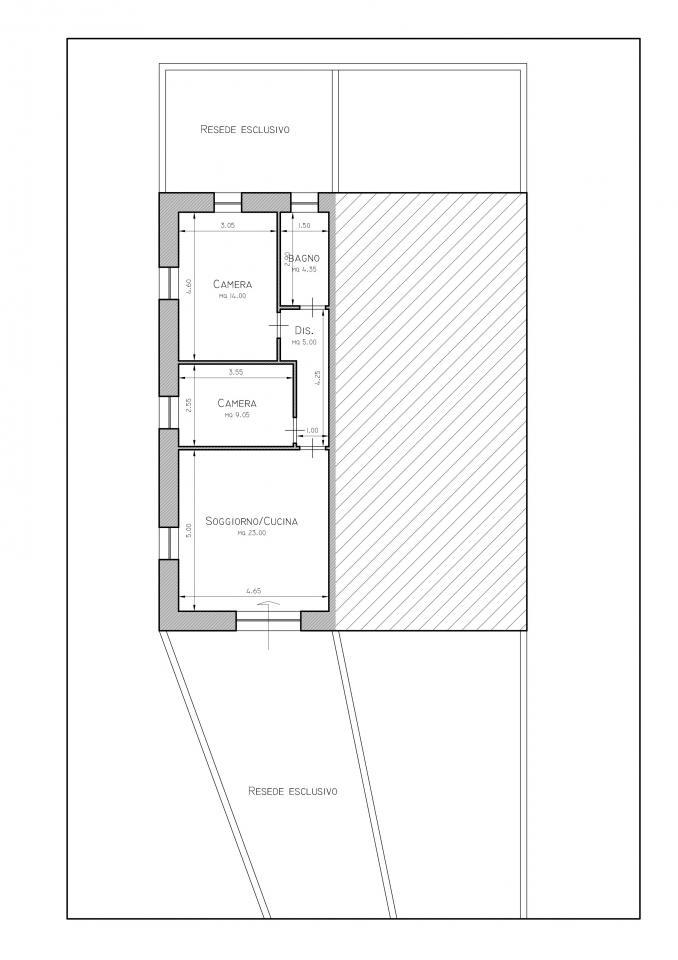 Appartamento in vendita a San Giuliano Terme, 3 locali, zona Zona: Mezzana, prezzo € 155.000 | Cambio Casa.it