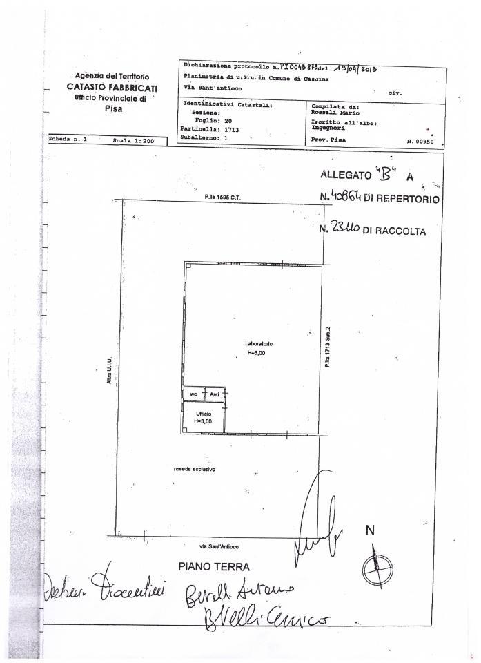 Laboratorio in vendita a Cascina, 9999 locali, zona Zona: Navacchio, prezzo € 230.000 | CambioCasa.it