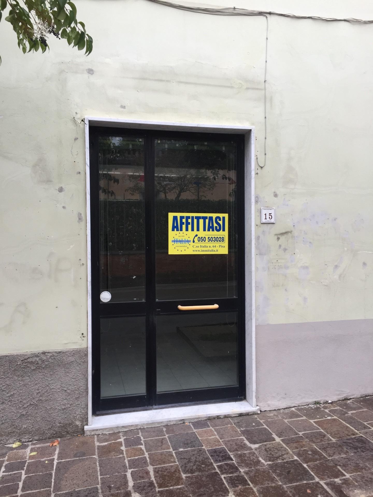 Negozio / Locale in affitto a San Giuliano Terme, 9999 locali, prezzo € 550 | CambioCasa.it