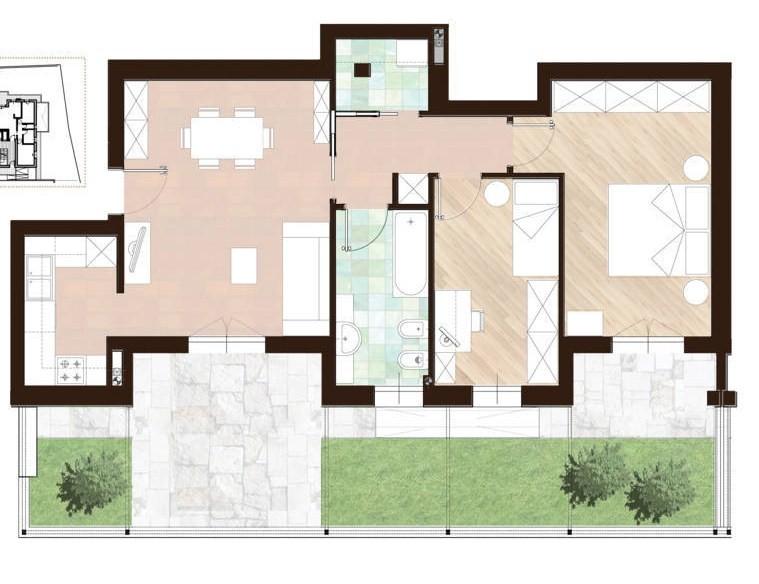 Appartamento vendita RONCHI DEI LEGIONARI (GO) - 5 LOCALI - 82 MQ