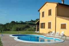 Villa in vendita a Terricciola, 8 locali, zona Zona: Selvatelle, prezzo € 690.000   Cambio Casa.it