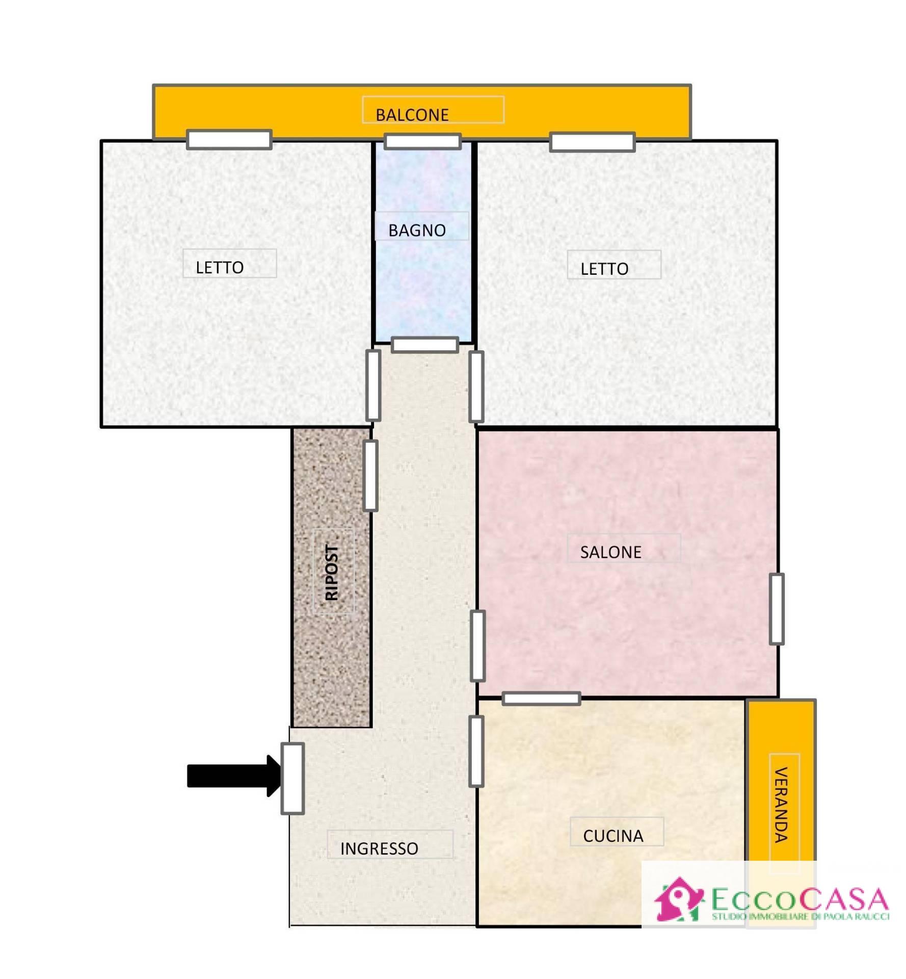 Appartamento in vendita a Maddaloni, 3 locali, prezzo € 69.000 | CambioCasa.it
