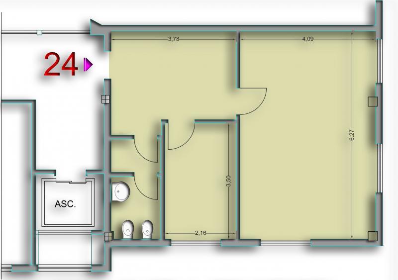 Ufficio / Studio in affitto a Ascoli Piceno, 9999 locali, zona Località: LuBattente, prezzo € 500 | Cambio Casa.it