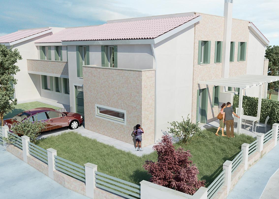 Villa a Schiera in Vendita a Occhiobello