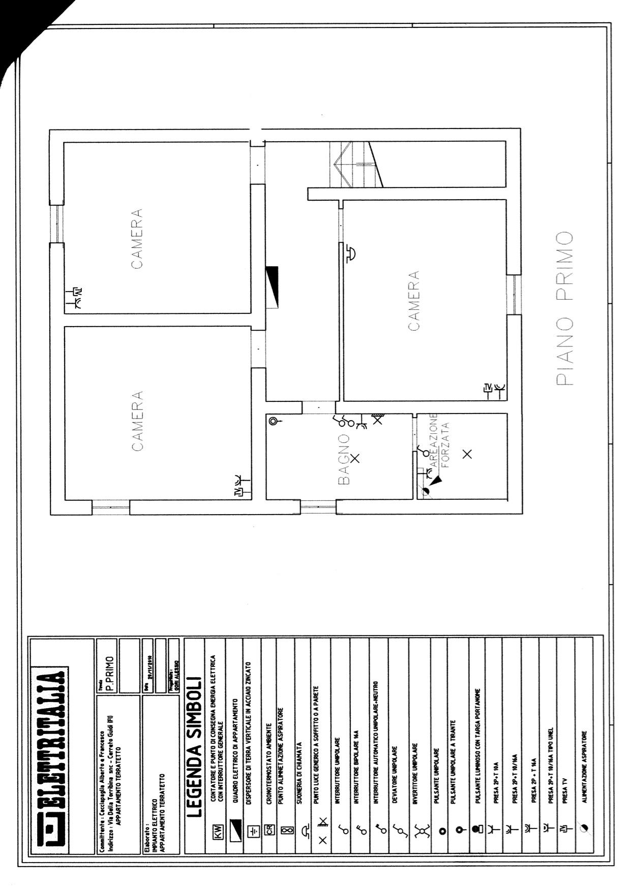 Appartamento in affitto a Cerreto Guidi, 5 locali, zona Località: PoggioTempesti, prezzo € 700 | Cambio Casa.it