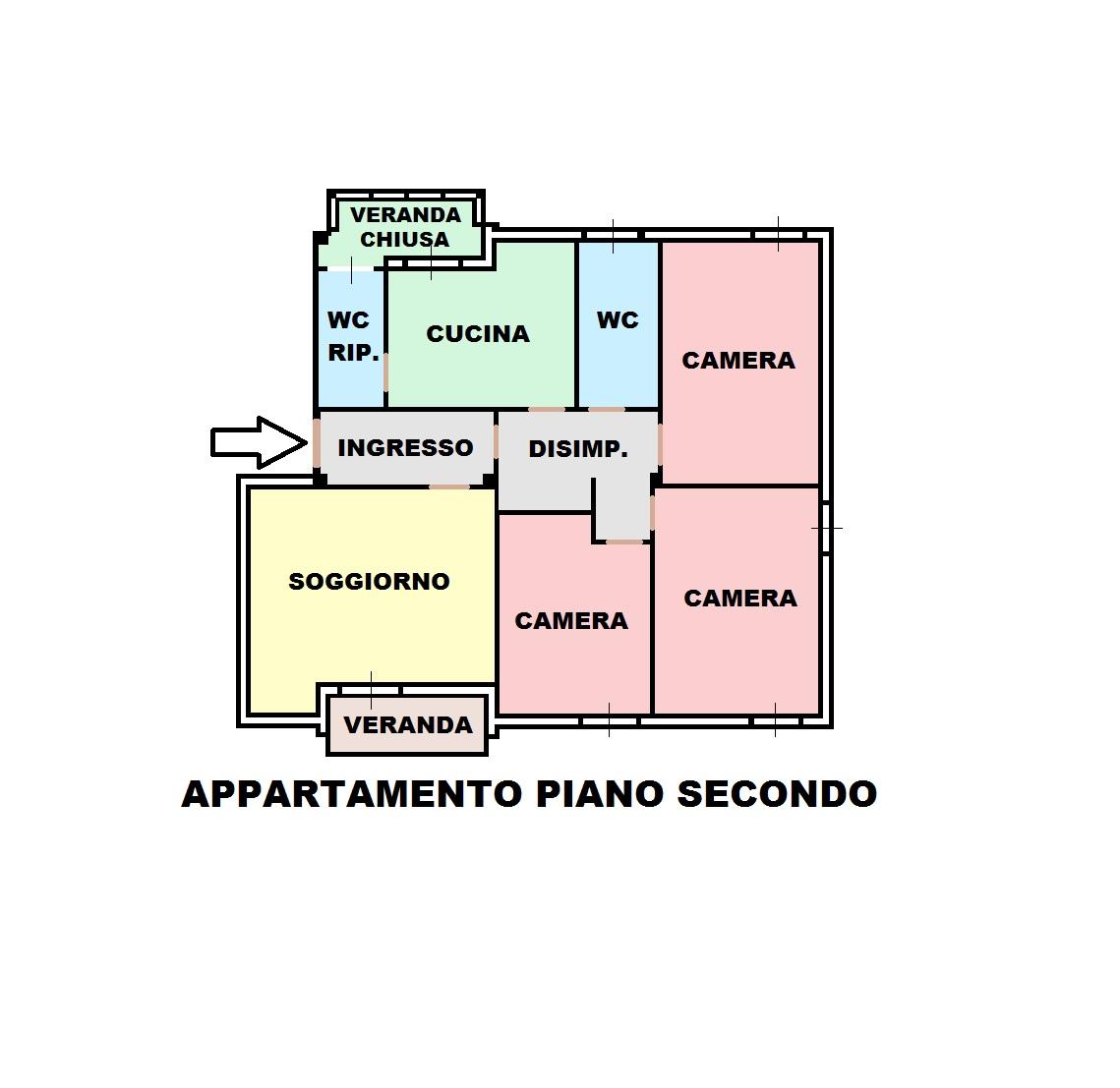 Appartamento in Vendita a Cagliari - Cod. GA80