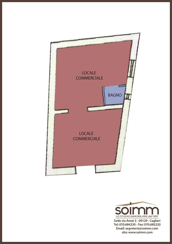 Locale commerciale in Vendita a Assemini - Cod. pc30