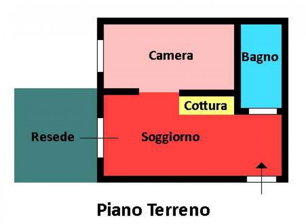 Bilocale Pisa Via Santa Marta 6