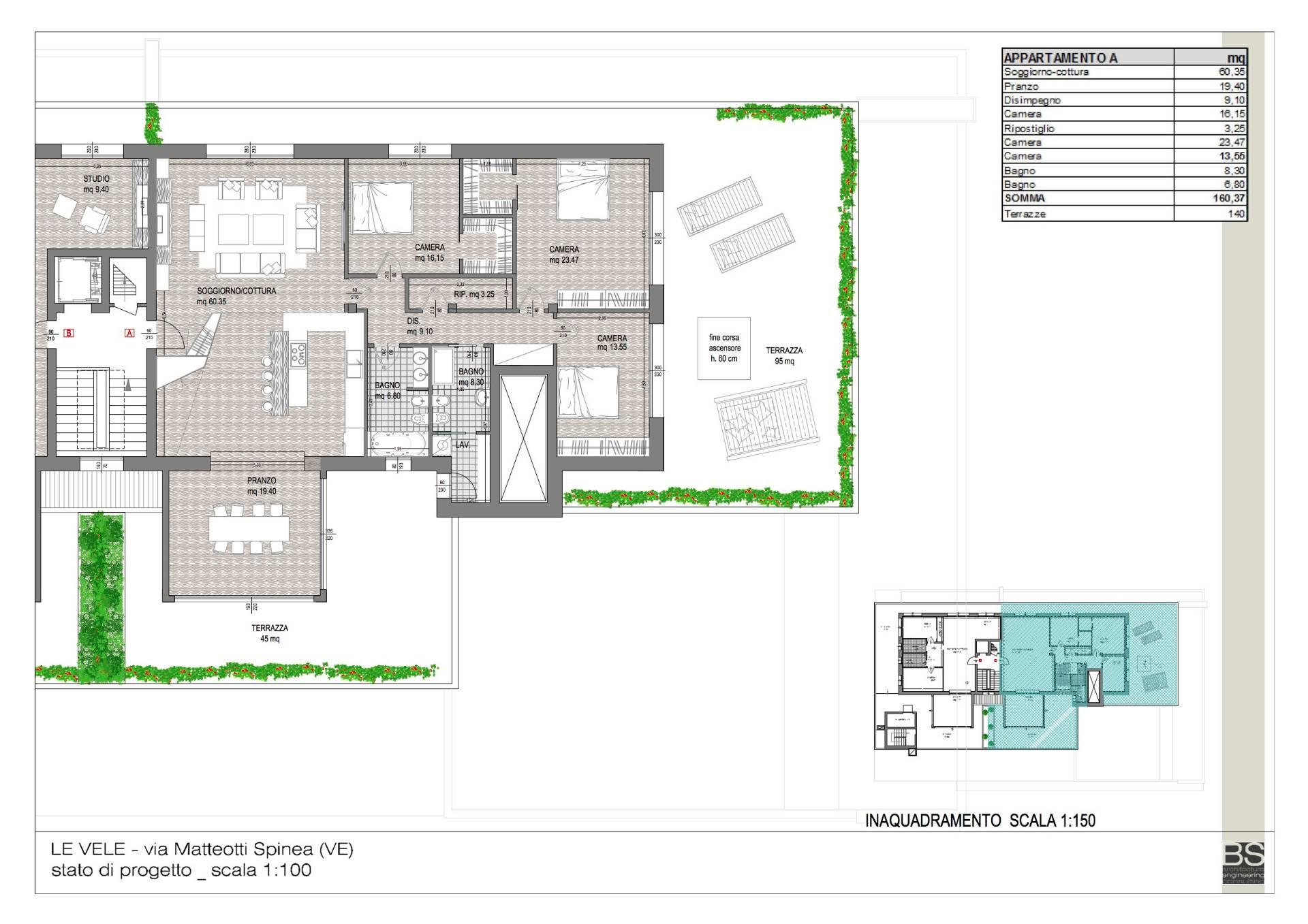 Appartamento in vendita a Spinea, 10 locali, Trattative riservate | Cambio Casa.it