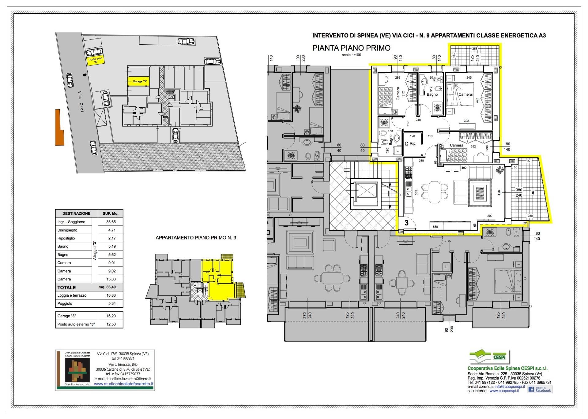 Appartamento in vendita a Spinea, 7 locali, prezzo € 245.000 | CambioCasa.it