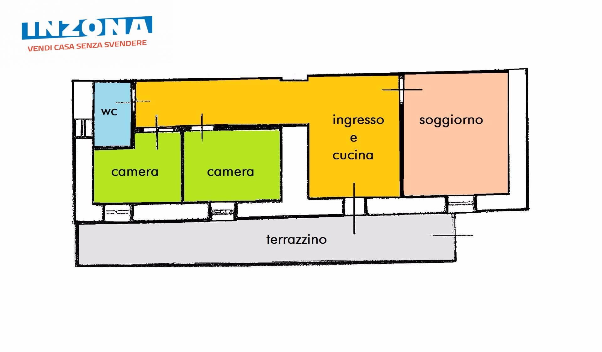 Appartamento in vendita a Teramo, 3 locali, zona Zona: Semicentro , prezzo € 35.000 | CambioCasa.it