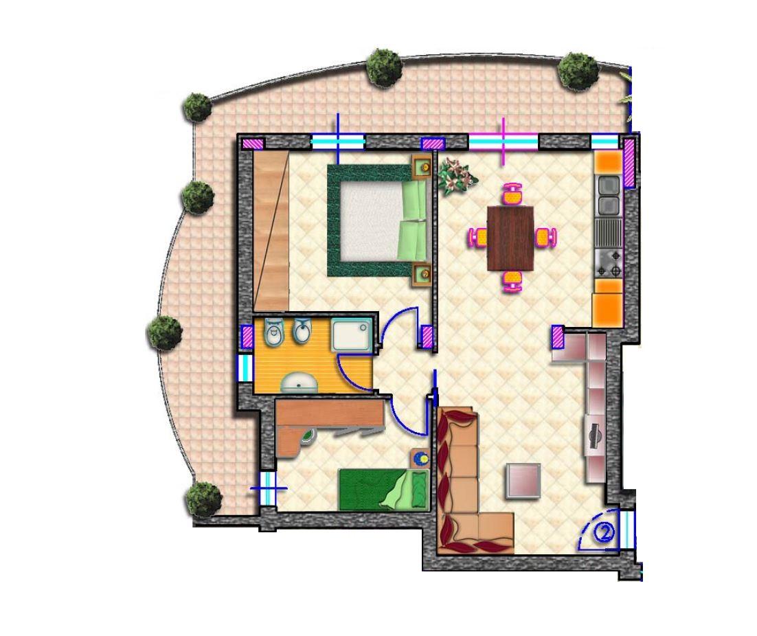 Appartamento in vendita a Monsampolo del Tronto, 3 locali, zona Località: StelladiMonsampolo, Trattative riservate | Cambio Casa.it