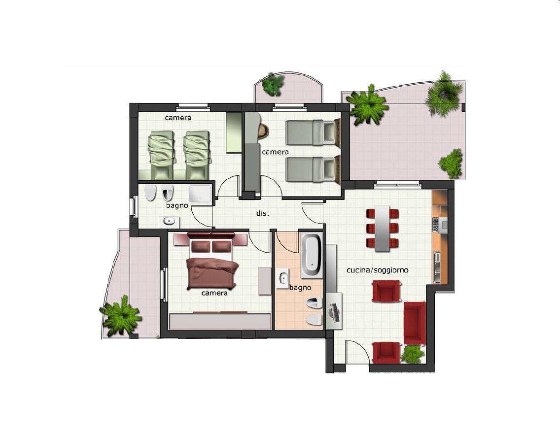 Appartamento in vendita a Spinetoli, 4 locali, zona Zona: Pagliare, Trattative riservate | Cambio Casa.it