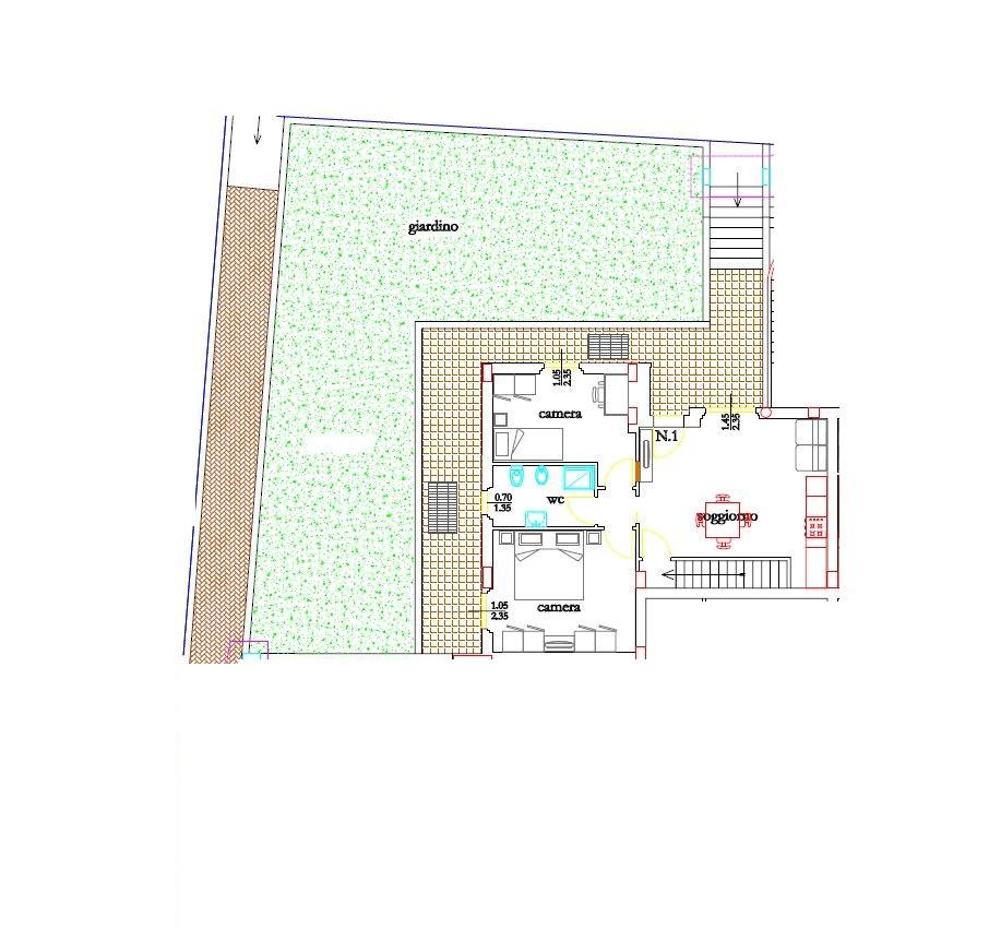 Appartamento in vendita a Folignano, 3 locali, zona Località: PianediMorro, prezzo € 192.000   Cambio Casa.it