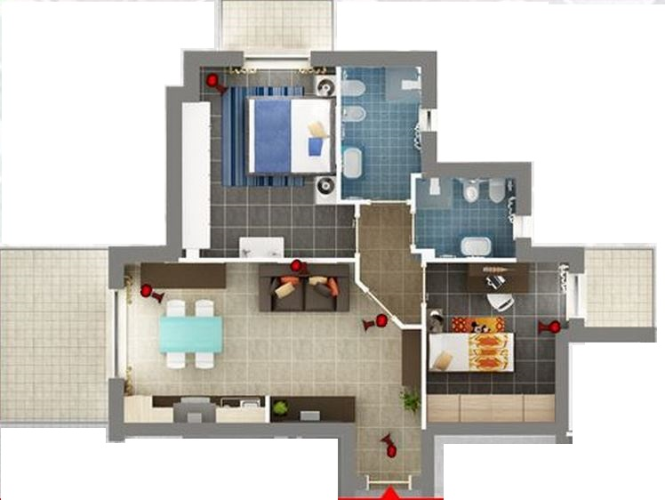 Appartamento in vendita a Cupra Marittima, 3 locali, zona Località: sopralaStatale16, prezzo € 175.000 | Cambio Casa.it
