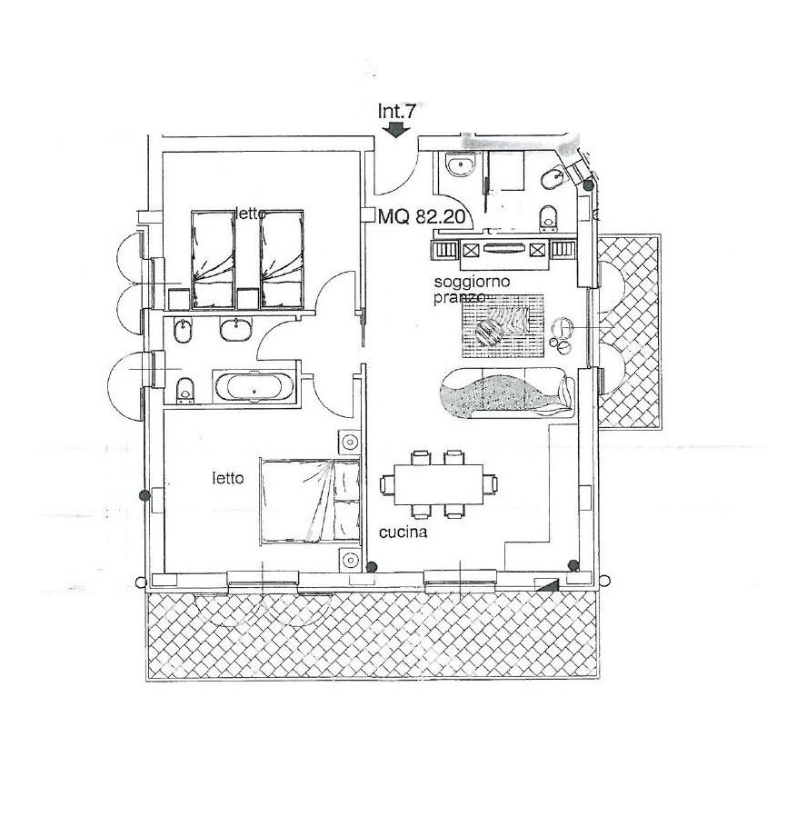 Appartamento in vendita a Monteprandone, 3 locali, zona Zona: Centobuchi, prezzo € 195.000   CambioCasa.it
