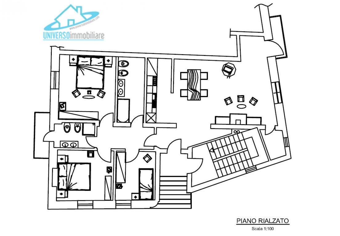 Soluzione Indipendente in vendita a Nereto, 13 locali, Trattative riservate | Cambio Casa.it
