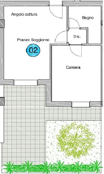 Bilocale Giulianova Via Trieste 4