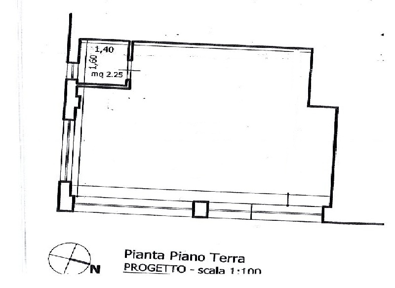 Negozio / Locale in vendita a Teramo, 9999 locali, zona Zona: Centro , prezzo € 60.000 | Cambio Casa.it