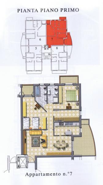 Appartamento in vendita a Nereto, 5 locali, prezzo € 120.000 | Cambio Casa.it