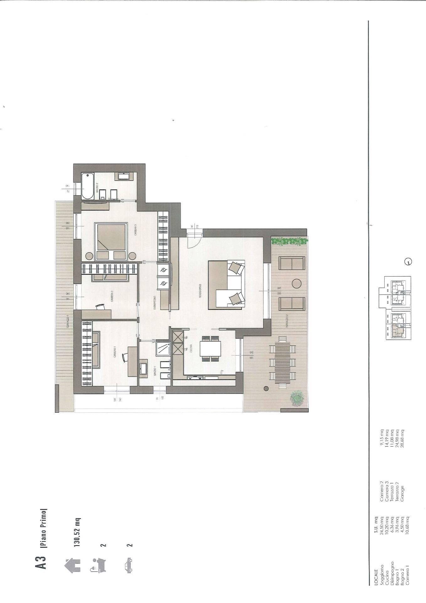 Appartamento in vendita a Stezzano, 4 locali, prezzo € 265.000 | CambioCasa.it