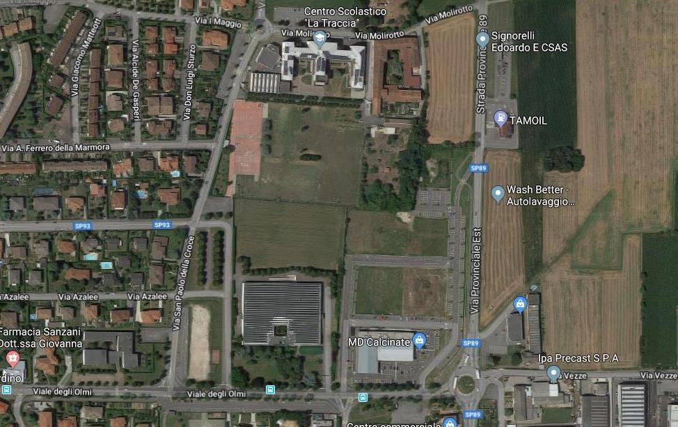 Terreno Edificabile Residenziale in vendita a Calcinate, 9999 locali, prezzo € 180.000 | CambioCasa.it