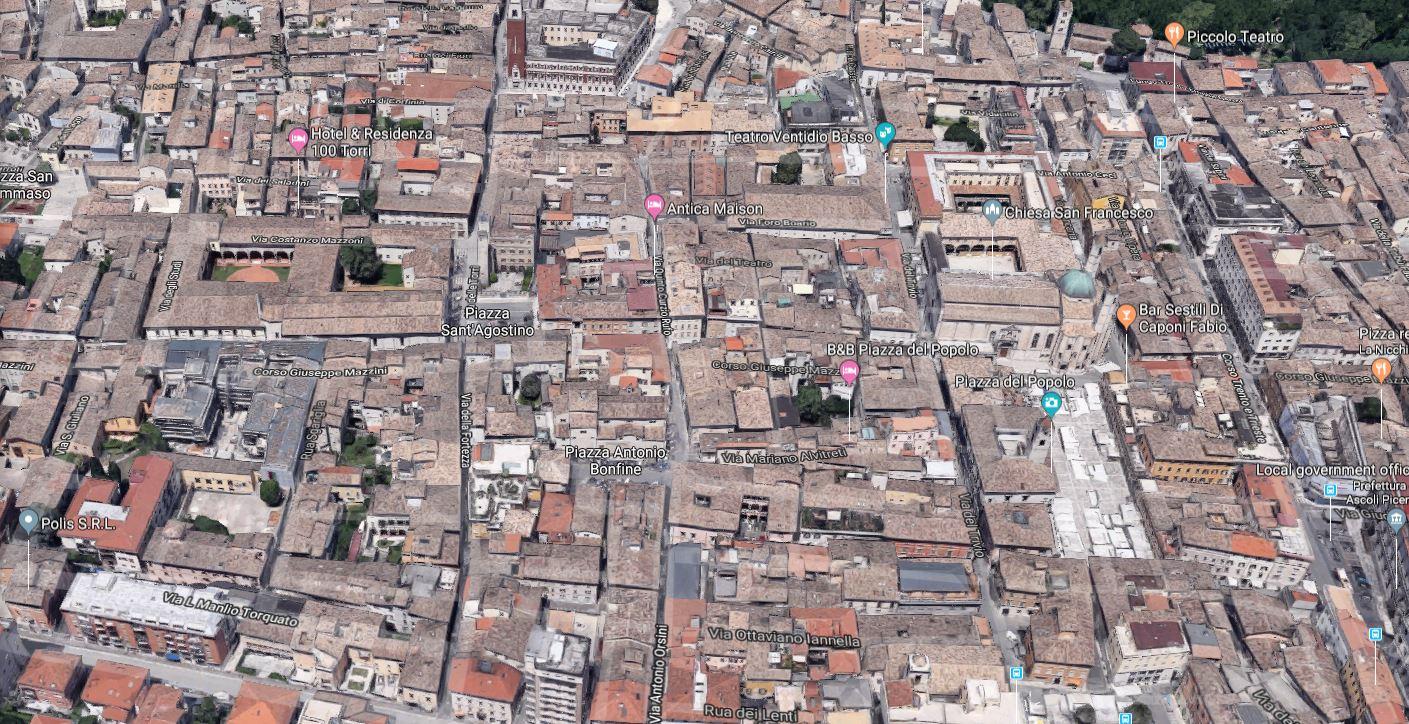 Appartamento in affitto a Ascoli Piceno, 5 locali, zona Località: CentroStorico, prezzo € 650 | PortaleAgenzieImmobiliari.it