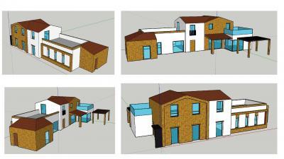 lotto edificabile con casa colonica in Vendita a Recanati
