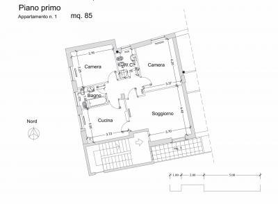 Appartamento in Affitto a Acquaviva Picena