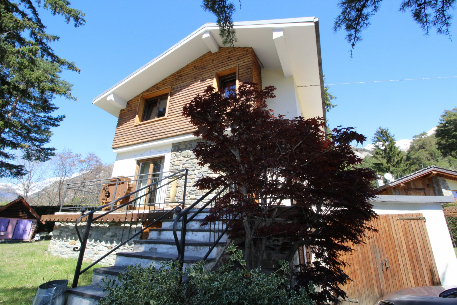 Villa in vendita a Morgex, 4 locali, prezzo € 398.000   CambioCasa.it