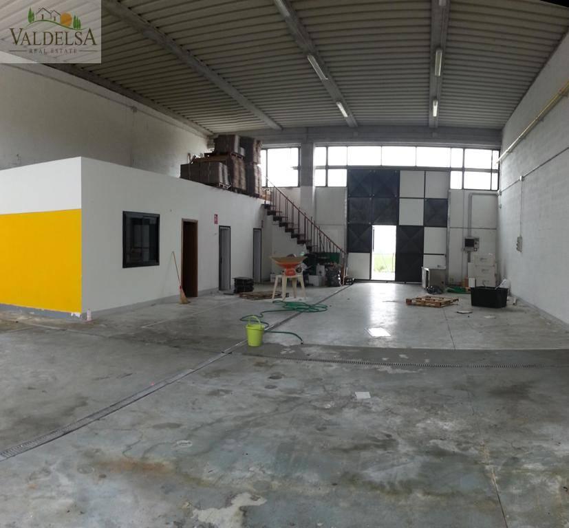 Capannone in affitto a Poggibonsi, 9999 locali, zona Località: FOCI, prezzo € 700   Cambio Casa.it