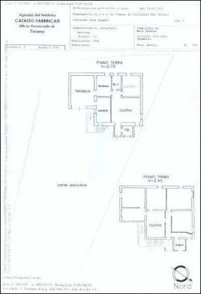Casa indipendente in Vendita a Civitella del Tronto