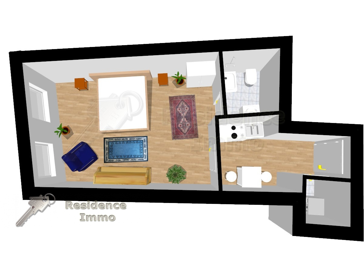 wohnung kaufen in bolzano bozen kodex 25115. Black Bedroom Furniture Sets. Home Design Ideas