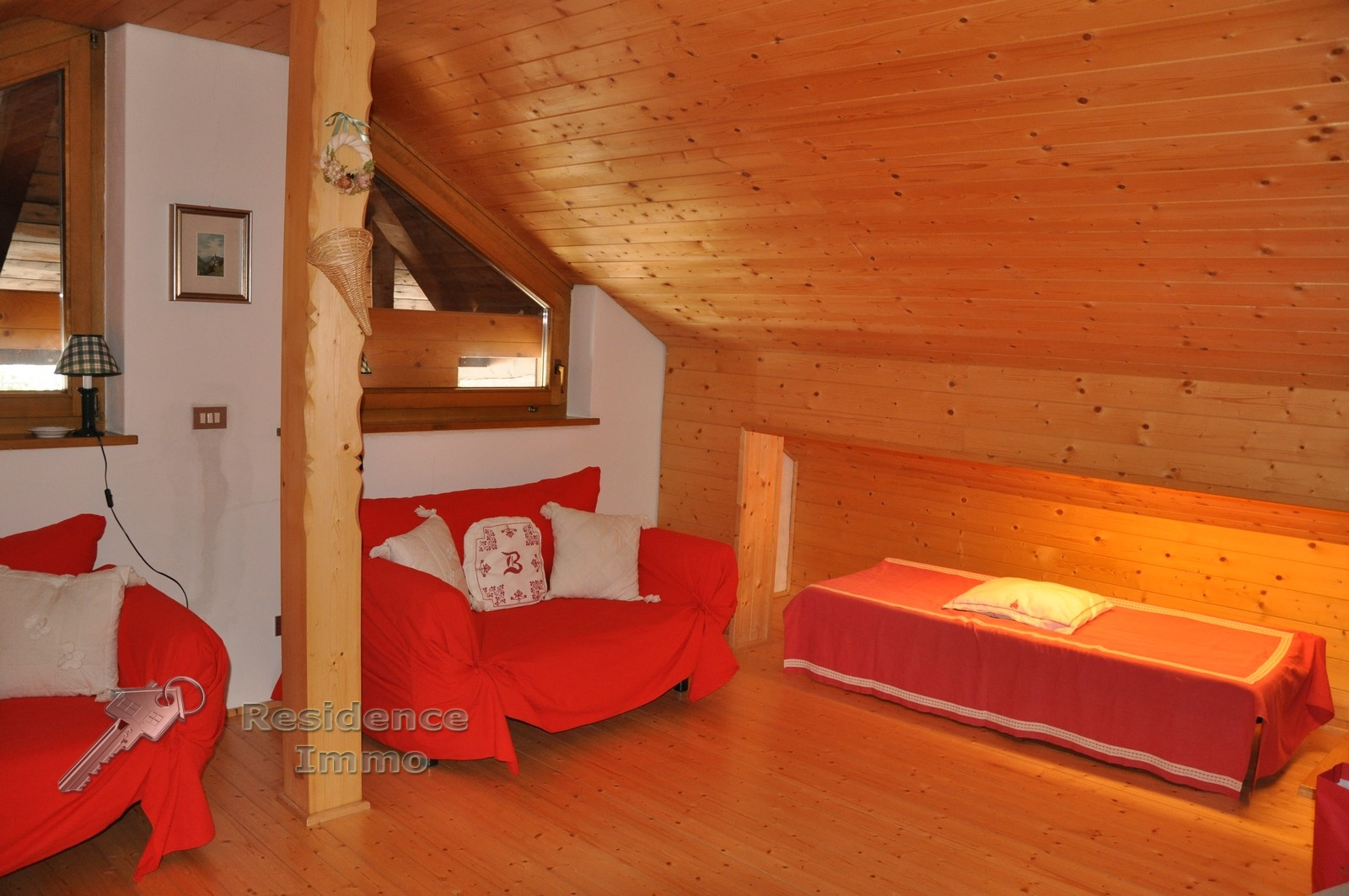 wohnung attika kaufen in nova levante welschnofen kodex 16360. Black Bedroom Furniture Sets. Home Design Ideas
