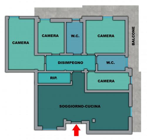 Appartamento in Vendita a Ponzano di Fermo