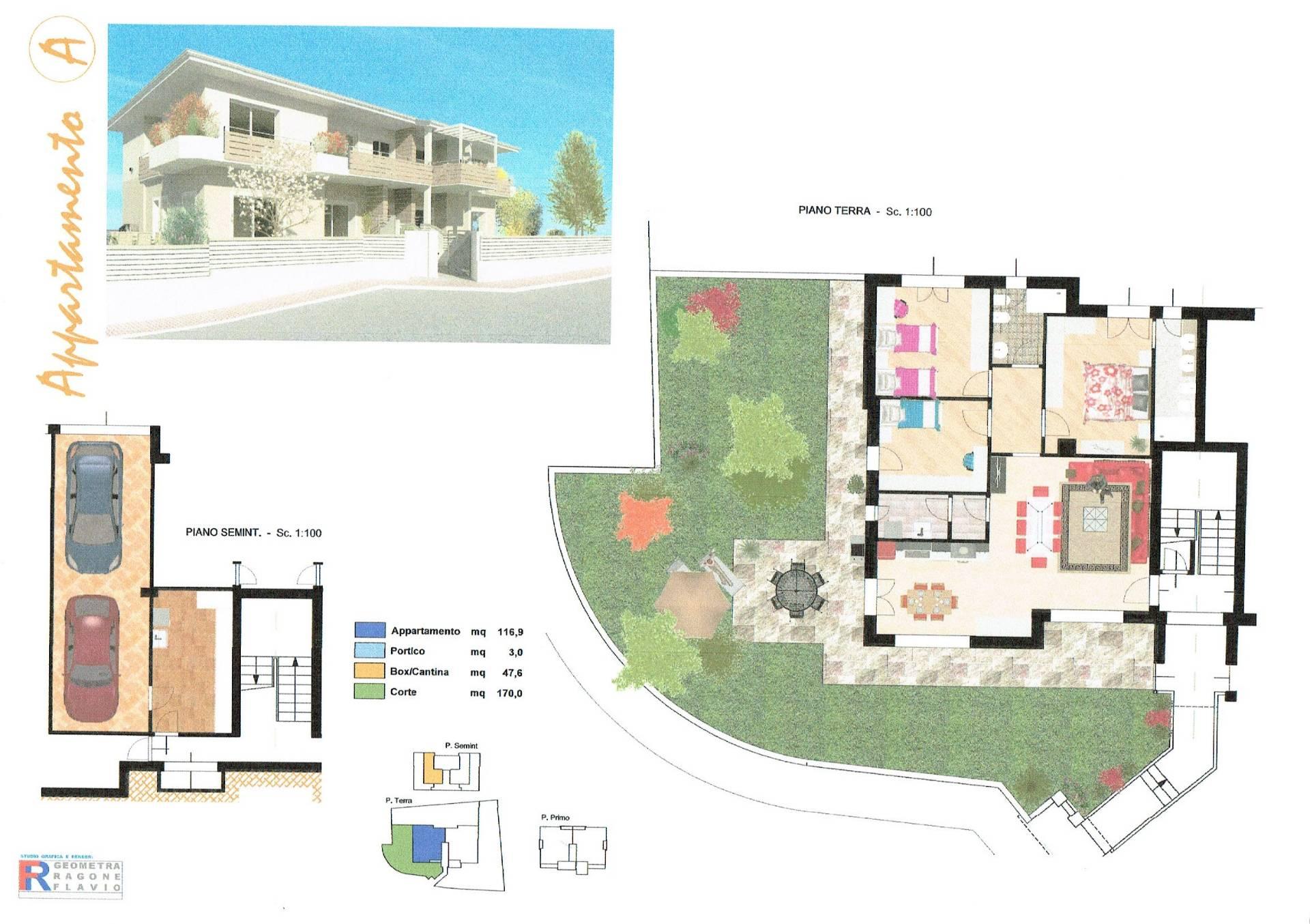 Appartamento in vendita a Villa Carcina, 4 locali, zona Zona: Cailina, prezzo € 255.000 | CambioCasa.it