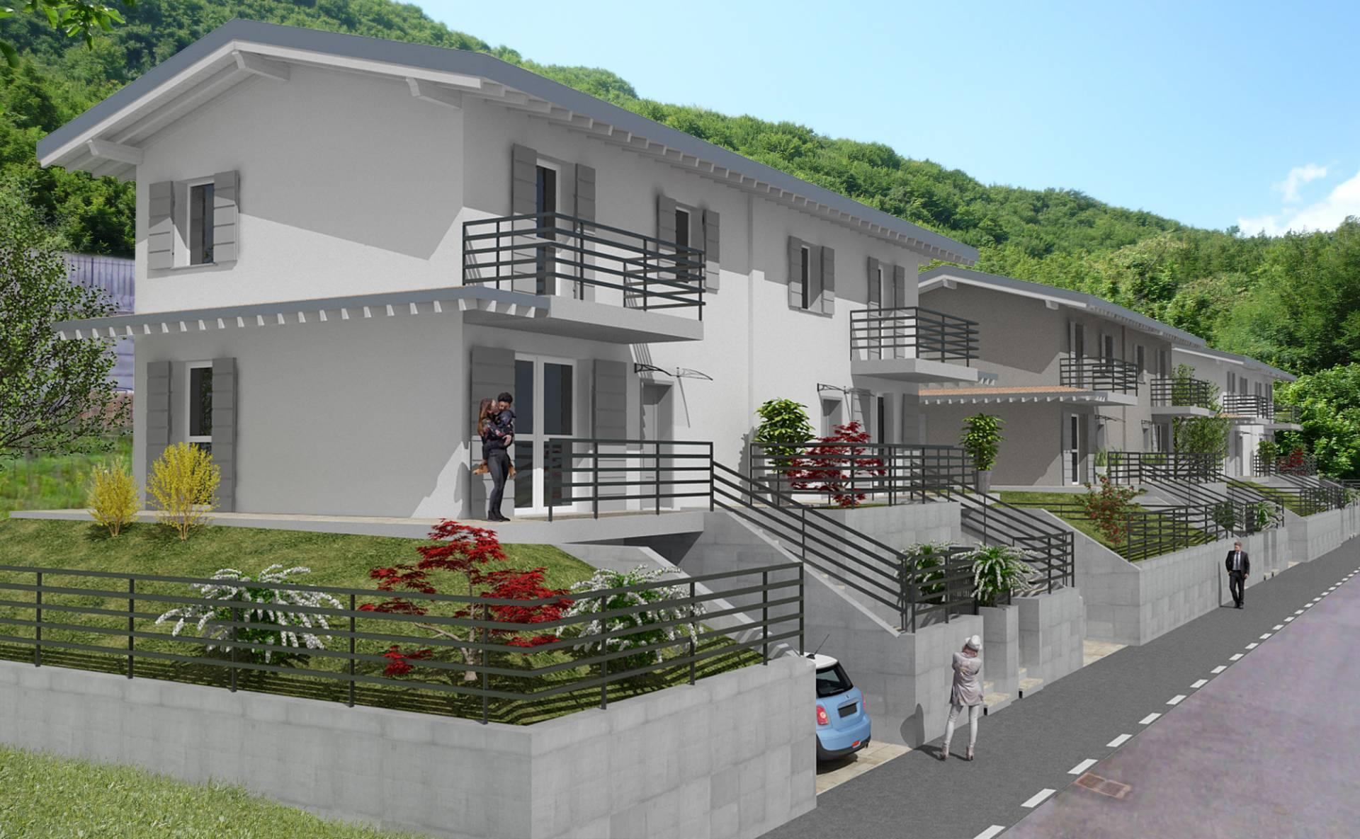 Villa Bifamiliare in vendita a Gardone Val Trompia, 4 locali, zona Zona: Inzino, Trattative riservate   CambioCasa.it