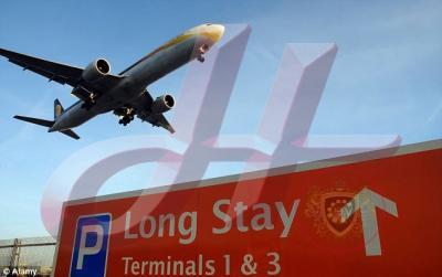 Parcheggi Aeroporto in vendita Londra & Glasgow