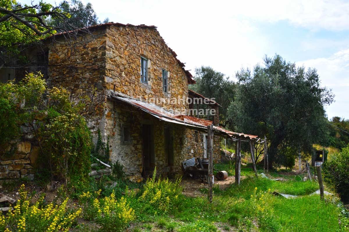 Immobiliers vendre villa maison vendre en vallebona for Acheter une maison en italie