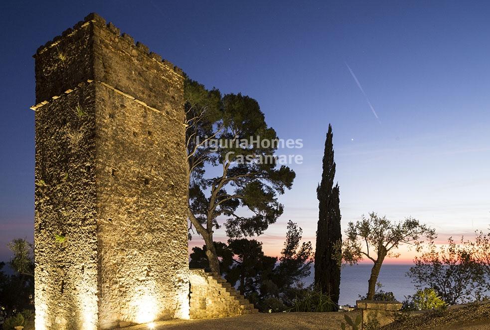 Villa in vendita a bordighera cod 3v23 for Planimetrie delle case in stile cape cod