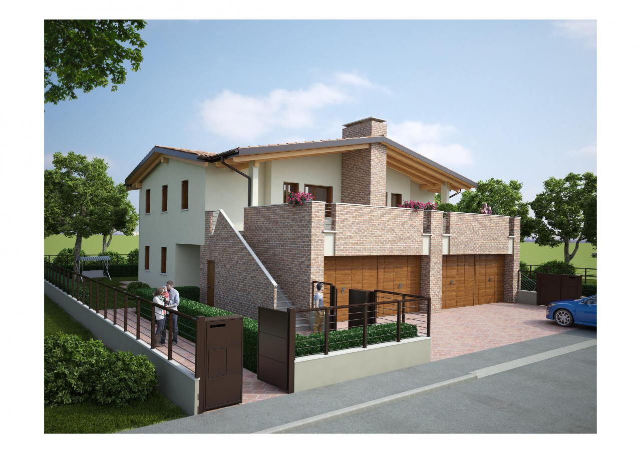 Villa Bifamiliare in vendita a Cento, 4 locali, zona Località: Cento, prezzo € 230.000 | Cambio Casa.it
