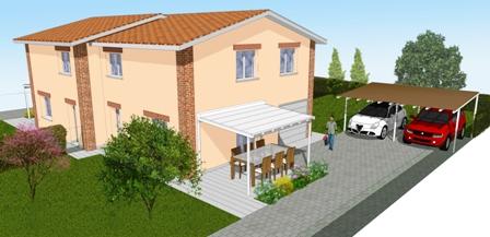 Villa Bifamiliare in vendita a Sala Bolognese, 5 locali, zona Località: OsteriaNuova, prezzo € 350.000 | CambioCasa.it