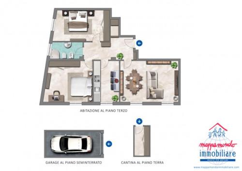 Appartamento in Affitto a Cento