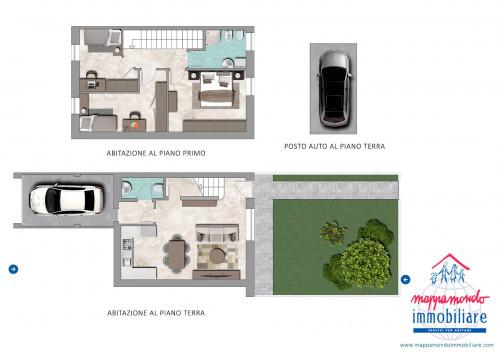 appartamento indipendente in Vendita a Castello d'Argile